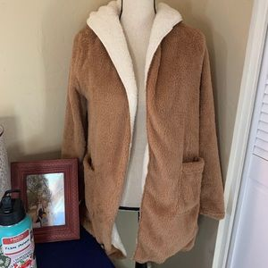 Sherpa Hooded Sweater S